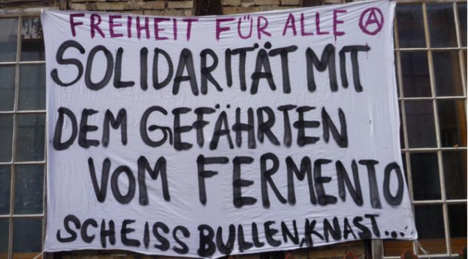 lettres du compagnon anarchiste incarcéré en suisse