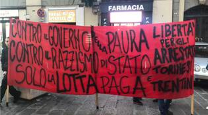 "Italy : Update concerning anarchists imprisoned in operations ""Scintilla"" and ""Renata"""